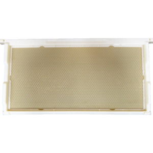plastic comb honey frame