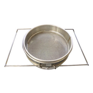 Double stainless steel strainer