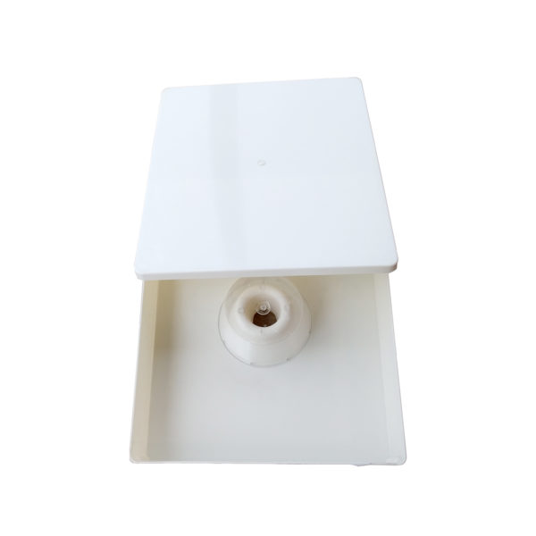 Top feeder with lid