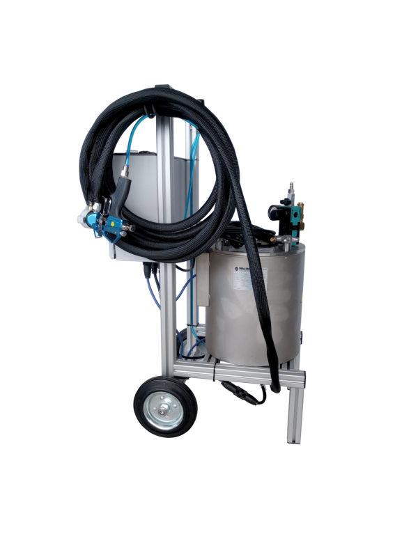 Hot Wax Pressure Pot Sprayer