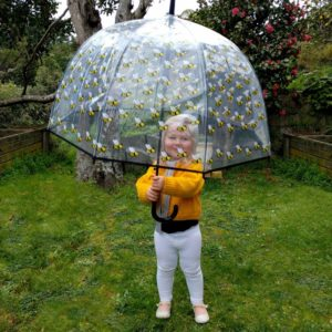 Bee Patterned umbrella