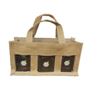 Jute Presentation Bag 250g jars