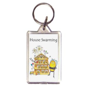 Bee Themed Keyring