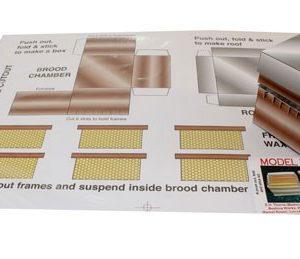 Cardboard Model Hive